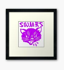 swmrs Logo Katze Gerahmtes Wandbild