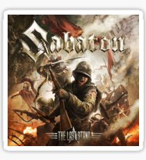 the last stand sabaton 2018 soang Sticker