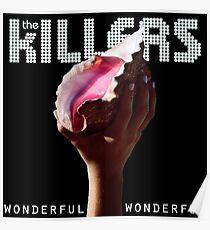 the killers wonderful tour 2018 soang Poster