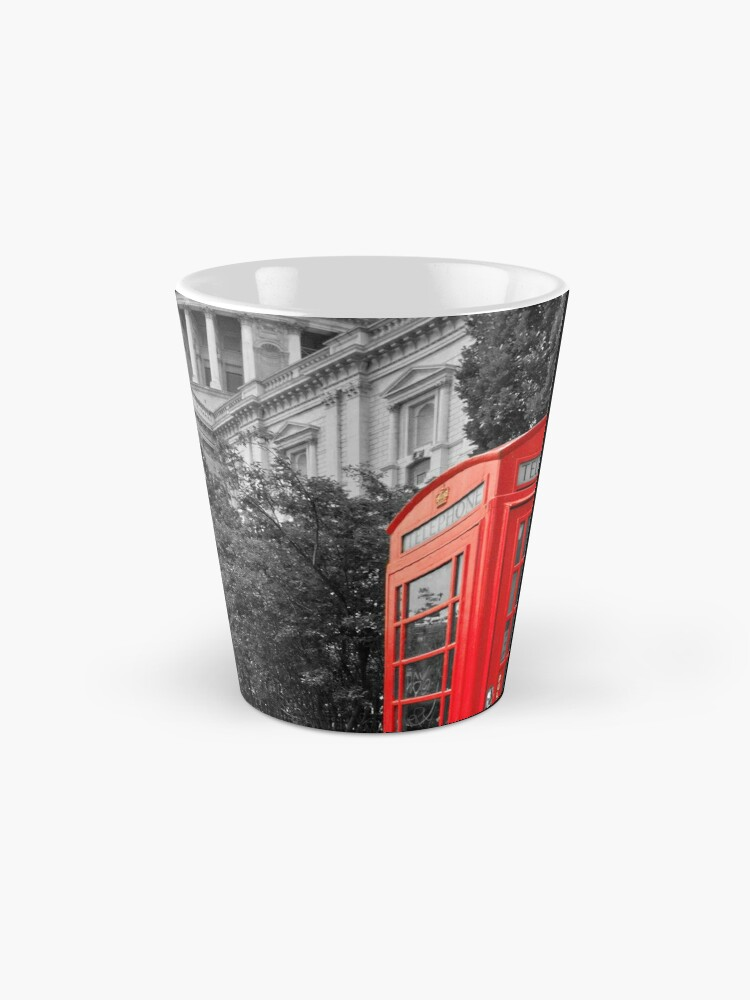 Alternate view of St Pauls Cathedral and the red telephone box Mug
