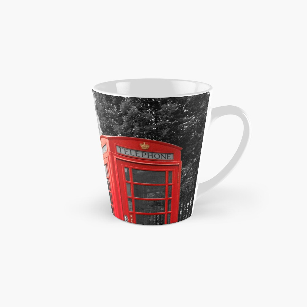 St Pauls Cathedral and the red telephone box Tall Mug