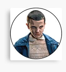 Eleven Stranger Things Bloody Nose Design Canvas Print