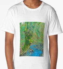 Long Exposure Expressionism Long T-Shirt
