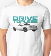 Camiseta unisex Conducir en topless