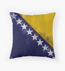 Bosnia And Herzegovina Flag Reworked No. 1, Series 2 Kissen