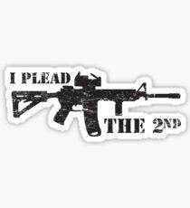 I plead the 2nd Sticker