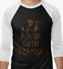 I Raid with Ragnar Men's Baseball ¾ T-Shirt