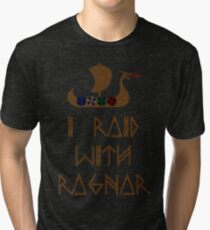 I Raid with Ragnar Tri-blend T-Shirt