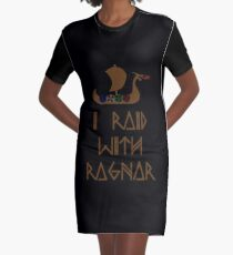 Vestido camiseta I Raid con Ragnar
