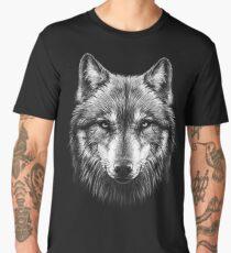 Wolf face Men's Premium T-Shirt