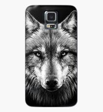 Wolf face Case/Skin for Samsung Galaxy