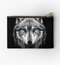 Wolf face Studio Pouch