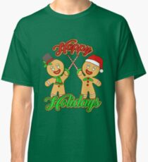 Fencing Christmas T-Shirt Xmas Holidays Candy Canes Classic T-Shirt