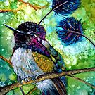 Spatuletail Hummingbird by NiamhWitch