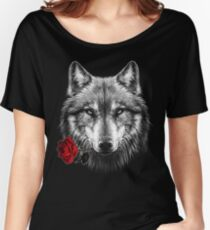 Wolf Rose Women's Relaxed Fit T-Shirt