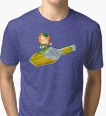 Liquor & Leprechauns Tri-blend T-Shirt