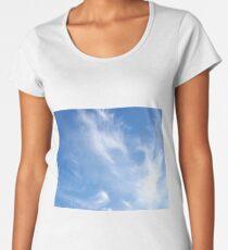 Sky Scribbles2 Women's Premium T-Shirt