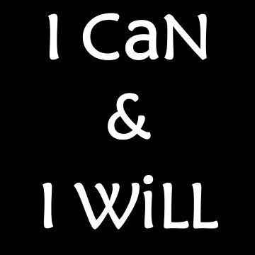 i can and i will by mysooma