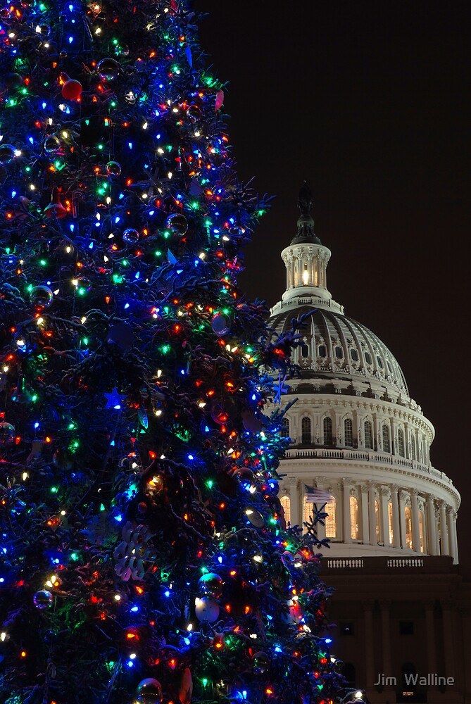 Christmas at the Capitol by Jim  Walline