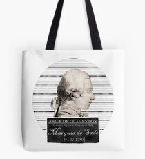 Marquis de Sade Tote Bag