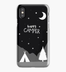 'Happy Camper' (accessory collection) iPhone Case/Skin