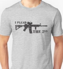 I plead the 2nd Unisex T-Shirt