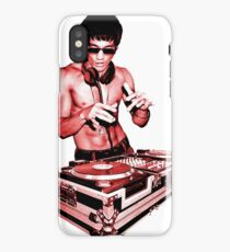DJ BRUCE LEE (RED STYLE) iPhone Case/Skin
