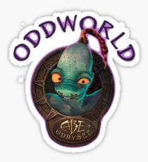Oddworld - Abe's Oddysee Sticker