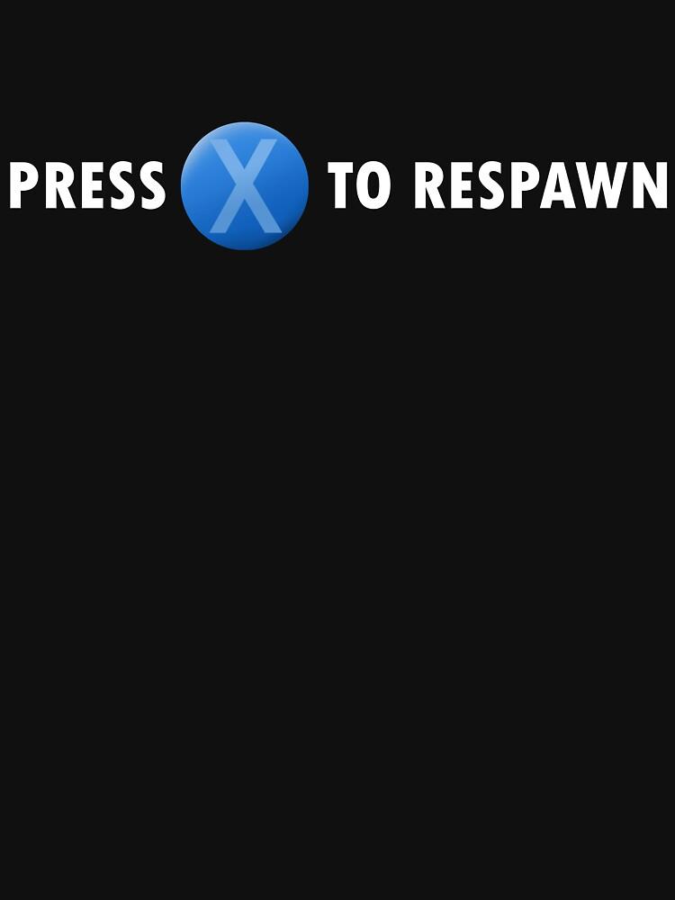 Presione X para reaparecer (blanco) de Stepjump