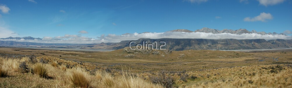 Mount Sunday NZ by Colin12