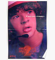 Stranger Things Dustin Poster