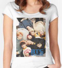 BTS Layin' Around Women's Fitted Scoop T-Shirt