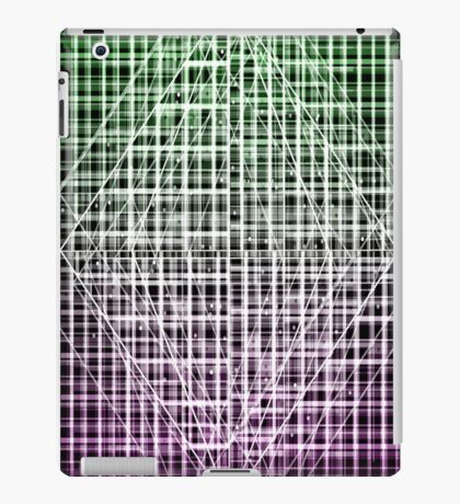 Space Plaid iPad Case/Skin