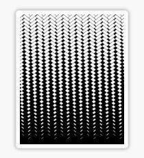 Carbon fibre metal effect Sticker