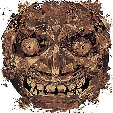 Majora's Mask Moon by hoodwinkedfool