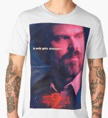 Stranger Things Jim Hopper Men's Premium T-Shirt