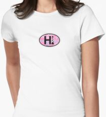 Cape Hatteras - OBX. Women's Fitted T-Shirt