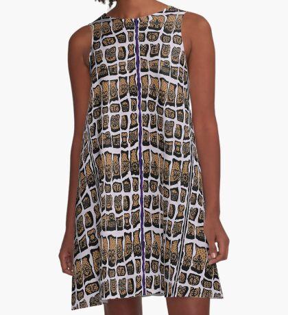 Misty Lilac COTY 2018 A-Line Dress