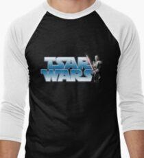 Tsar Wars- Nicholas II strikes back! Men's Baseball ¾ T-Shirt