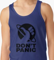 Don't Panic - Hitchhikers Guide Tank Top