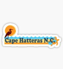Cape Hatteras - OBX. Sticker