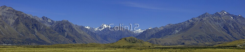 Mount Sunday, New Zealand by Colin12