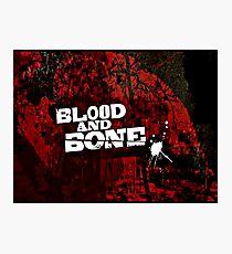Blood and Bones Photographic Print