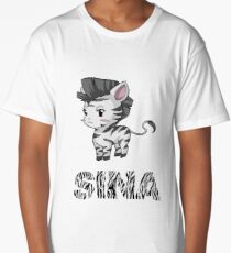 Zebra Sina Long T-Shirt