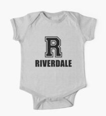 R for Riverdale One Piece - Short Sleeve