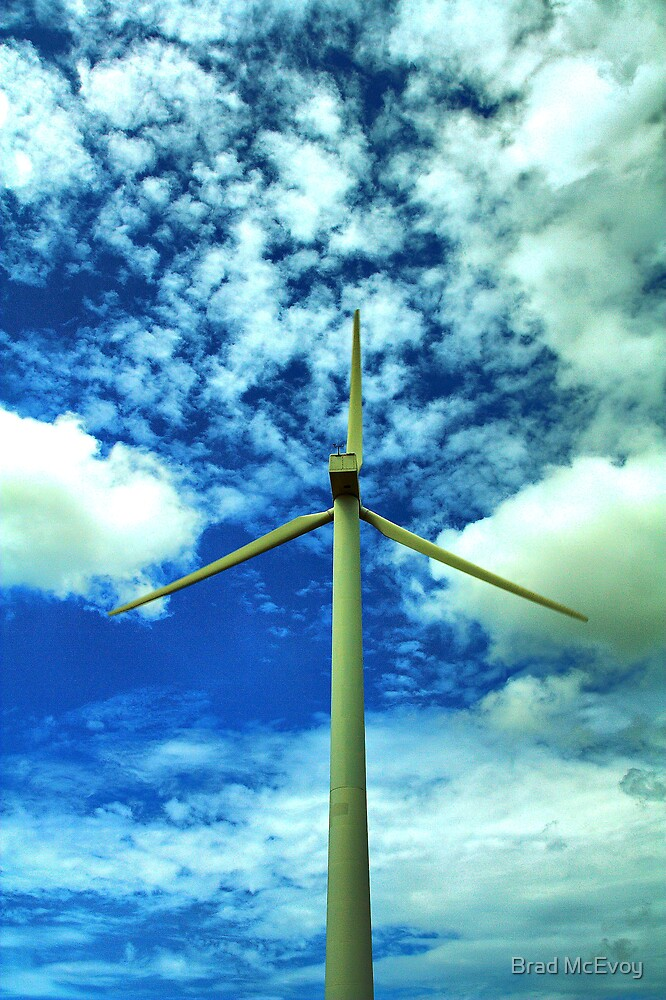 Wind Power by Brad McEvoy