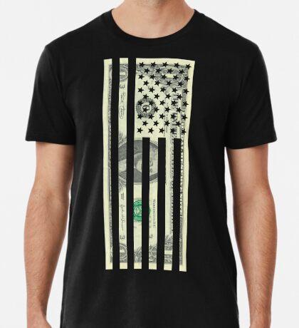 American Dollar Flag Premium T-Shirt