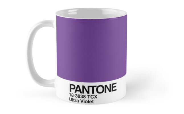 Pantone Color of the Year 2018 Ultra Violet by kirei