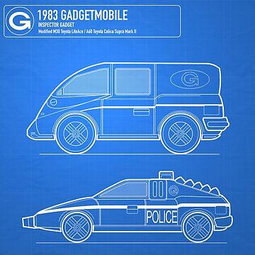 Gadgetmobile Blueprint by kuronekojustice