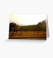 Wide Angle Greeting Card